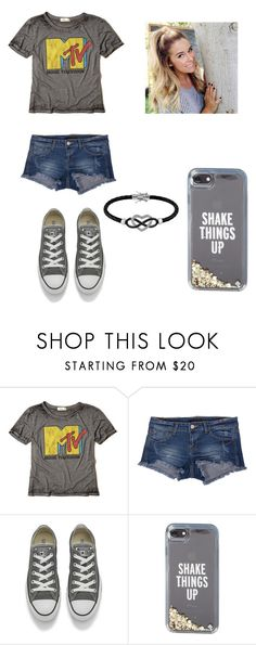 """""""Untitled #660"""" by jessica-smith-xxv ❤ liked on Polyvore featuring Hollister Co., Klique B, Converse, Kate Spade and Jewel Exclusive"""