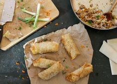 Homemade egg rolls are the perfect way to knock those mystery ingredients and enjoy Chinese food at home.