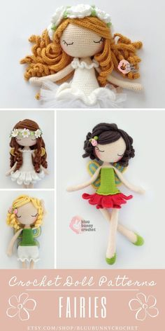 Crochet Doll Pattern, 14,5 inches - 37cm Ballerina, Fairy Amigurumi Doll Pattern, Ballerina Skirt, Tutu Diy Flower Flower Fairy Doll Amigurumi Crochet Pattern. Ballerina Crochet Doll Pattern 14,5 inches - 37cm This is a DOWNLOADABLE TUTORIAL. Written in English. Using US terminology.