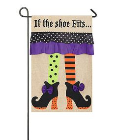 Another great find on #zulily! Witch Feet Flag #zulilyfinds