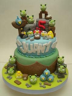 Torta Angry Birds | Flickr: Intercambio de fotos