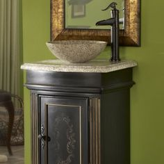 Granite Round Vessel Sink!