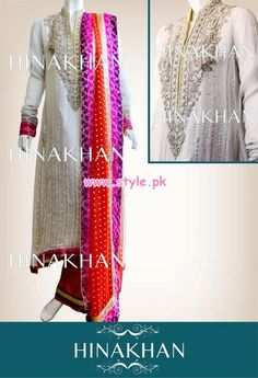 Nice Semi Formal Dresses Hina Khan Latest Bridal And Formal 2013 Collection