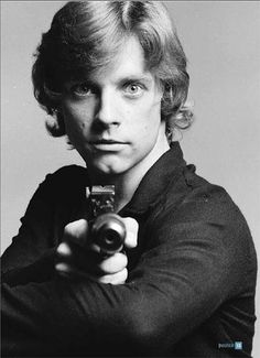 Mark Hamill, he was so handsome!