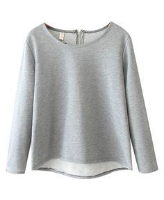 Long Sleeves Pullover T-shirt
