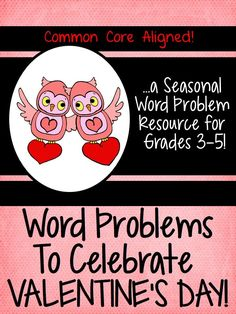Viewing 1 - 20 of 28704 results for seasonal word problems valentines day grades 3 5 Fall Words, Spring Words, Fun Classroom Activities, Holiday Activities, Classroom Ideas, Valentines Day Words, Valentine Ideas, Grade 3, Fourth Grade