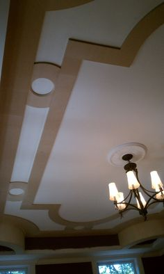 Flat Panel Tray Ceiling MDF, Wiggle Wood