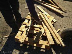 odzyskujemy deski z palet, wyjmujemy gwoździe Garden Ideas, Wood, Crafts, Composters, Manualidades, Woodwind Instrument, Landscaping Ideas, Trees, Handmade Crafts