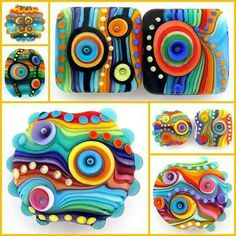 Contrast colour...Polymer Clay