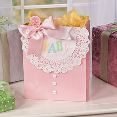 Baby Gift Bag - OrientalTrading.com