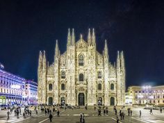 Duomo di Milano at night by KWN #architecture #building #architexture #city #buildings #skyscraper #urban #design #minimal #cities #town #street #art #arts #architecturelovers #abstract #photooftheday #amazing #picoftheday