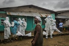 09/24/2014 - Liberia's Ebola Victims Dying at Home Amid Shortage of Clinics - NYTimes.com - mind blowing - sending sick, contagious people home to their families for lack of anything else.  I can't imagine facing an illness like this, much less without any medical support or sanitation.  It's truly ghastly.