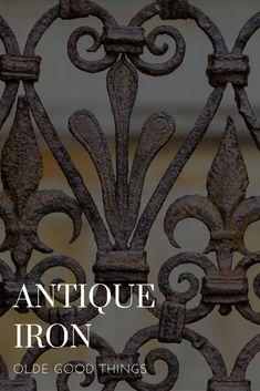 Make an Offer on Vintage Antique Salvaged Iron Online http://ogt.bz/salv-iron #antiqueiron #usedvintageiron #salvagediron