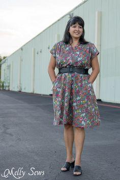 Marigold Dress by Blank Slate Patterns - 30 Days of Sundresses - Melly Sews