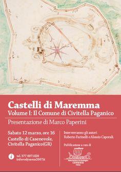 """Italia Medievale: """"Castelli di Maremma"""" presentazione a Civitella Paganico (GR)"""