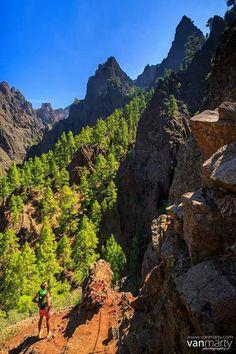 Caldera de Taburiente, La Palma, Canary Islands, Spain.