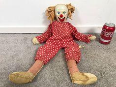 Genuine BOZO The Clown 'The Capitol Clown' Capitol Records Knickerbocker Toy Co New York