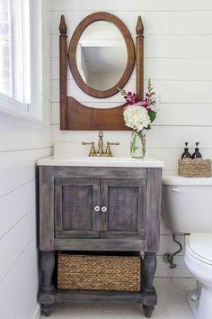 Diy bathroom decor on a budget awesome bathroom vanity ideas on a budget on most creative . diy bathroom decor on a budget Master Bathroom Vanity, Rustic Bathroom Vanities, Bathroom Vanity Cabinets, Diy Vanity, Bathroom Ideas, Vanity Ideas, Bathroom Storage, Modern Bathroom, Bathroom Layout