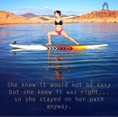 Stand up paddle boarding. SUP yoga. ECOXGEAR On the Pond fitness and rentals Utah. www.facebook.com/onthepondfitness Inspirational quotes.
