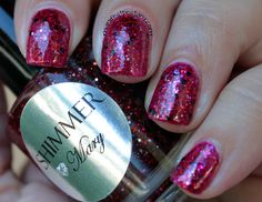 Manifest Destany: Shimmer Polish Mary swatches+review