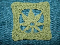 Pattern Only Crochet Marijuana Weed Leaf Motif by UnicornLincoln