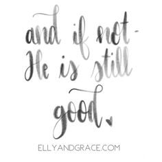 And if Not, He is still good Christian Shirt for women