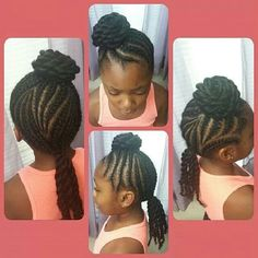 cornrow, girl hairstyl, natur girl, natur hair, braids, eboni hair, hair style, kid hair, protect hairstyl