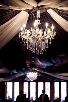 Wedding Reception Ideas & Table Settings - Draped ceiling & Chandeliers - Ballroom - Duxton Hotel, Perth #weddings #weddingplanning #jevel #jevelwedding #jevelweddingplanning