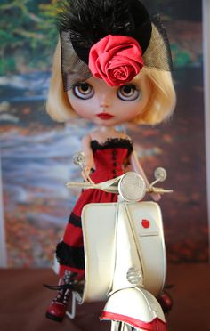 OOAK Custom Blythe Doll Ava