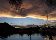 Photo: Reflective Clouds During a #Caribbean Sunset http://caribbeantrading.com/caribbean-sunsets/#