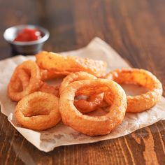 Deep Fry Batter, Batter Mix, Beignets, Trim Healthy Mama, Onion Ring Batter, Gluten Free Onion Rings, Beer Battered Onion Rings, Battered Fish, Onion Rings Recipe