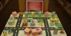4th Grade Completes Polyhedra-Ville Project in Math: Students were asked to design a city of the future!  Students needed to design blue prints for the city, build a three dimensional model, and include all elements needed for a thriving city of the future.  The projects were creative, thought provoking and made a great display in our media center.