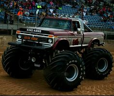 Cool Trucks, Big Trucks, Cool Cars, Lifted Trucks, Big Monster Trucks, Monster Jam, Truck Pulls, Old Fords, Big Wheel