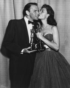 At the 26th Annual Academy Awards, Frank Sinatra won the Oscar for Best Supporting Actor and Donna Reed for Best Supporting Actress,