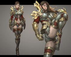 ArtStation - Character pose 01, NAMGWON LEE