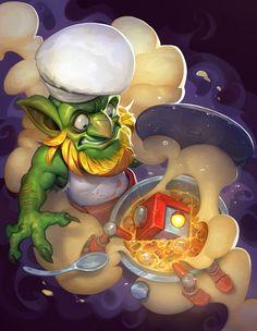 ArtStation - Robot soup, Anzka Nguyen Character Sketches, Character Concept, Character Art, Concept Art, Goblin Art, Goblin King, Creepy Monster, Warcraft Art, Dragon Pictures