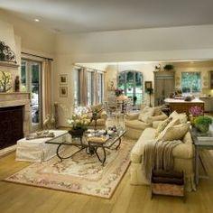 Nice open floor plan. Calming colors, love it all!
