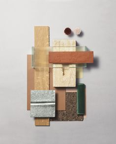 Material Mood Of The Week ~ Store Concept for HAY China ⠀⠀ ⠀⠀ #materials #materialmood #colors #haydesign #haychina #hay #inspiration #interior #design #architecture #textile #bricks #terracotta #concrete #glass #cork #linolium #colors #galvanizedmetal #studiodavidthulstrup