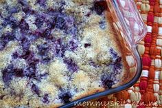 Mommy's Kitchen - Old Fashioned & Country Style Cooking: Quick Blackberry Cobbler