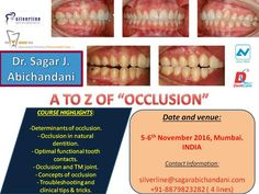 A to Z of occlusion is coming to Mumbai this November: don't miss out on the masterclass!