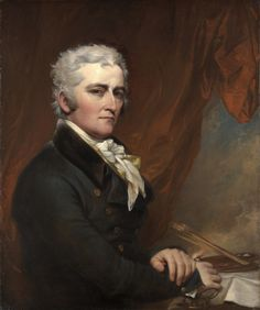 1802 ca. Gray-haired gentleman:Self Portrait by John Trumbull  wikipaintings.org