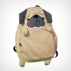 Pug Puppy Backpack