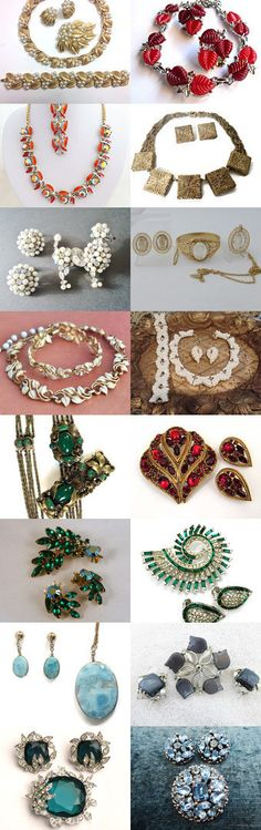 Fabulous Jewelry Sets - Parures and Demi Parures by ClockworkZoo on Etsy--Pinned+with+TreasuryPin.com