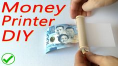 How to make Money Printer trick- DIY tutorial https://youtu.be/ZNLfISA5fPc . how to make your own #crafts follow @cutephonecases