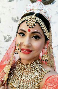 # Hina khan bengali bride look form kasauti zindagi kay😚😚 Wedding Eye Makeup, Indian Wedding Makeup, Bride Makeup, Indian Bridal Photos, Indian Bridal Fashion, Pakistani Wedding Outfits, Bollywood Wedding, Bengali Bridal Makeup, Bengali Bride
