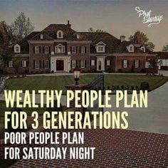 What is the difference between wealthy and poor people?
