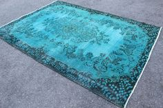 Turquoise Rug, Rugs, Awesome, Vintage, Etsy, Home Decor, Farmhouse Rugs, Decoration Home, Teal Carpet