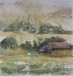 Armenia, Watercolour Painting, Paper Art, Instagram, Papercraft