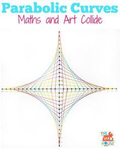 parabolic curves maths and art