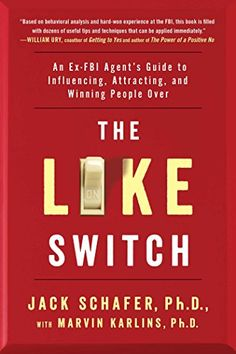 The Like Switch: An Ex-FBI Agent's Guide to Influencing, Attracting, and Winning People Over by Jack Schafer http://www.amazon.com/dp/1476754489/ref=cm_sw_r_pi_dp_A3rBvb08M8HWP